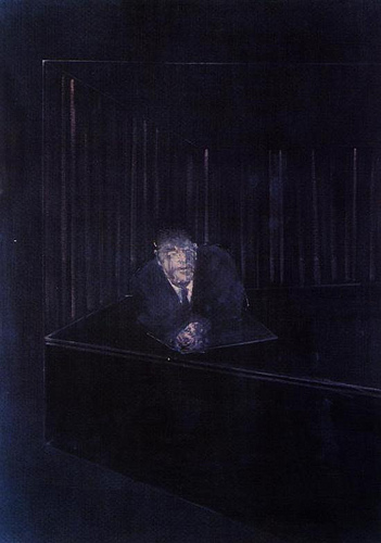 Francis Bacon, Man in Blue