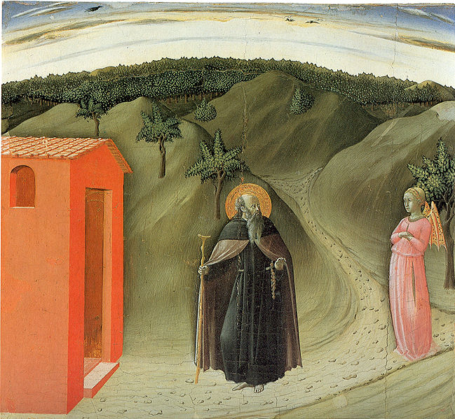 Temptation of Saint Anthony Abbot, Master of the Osservanza