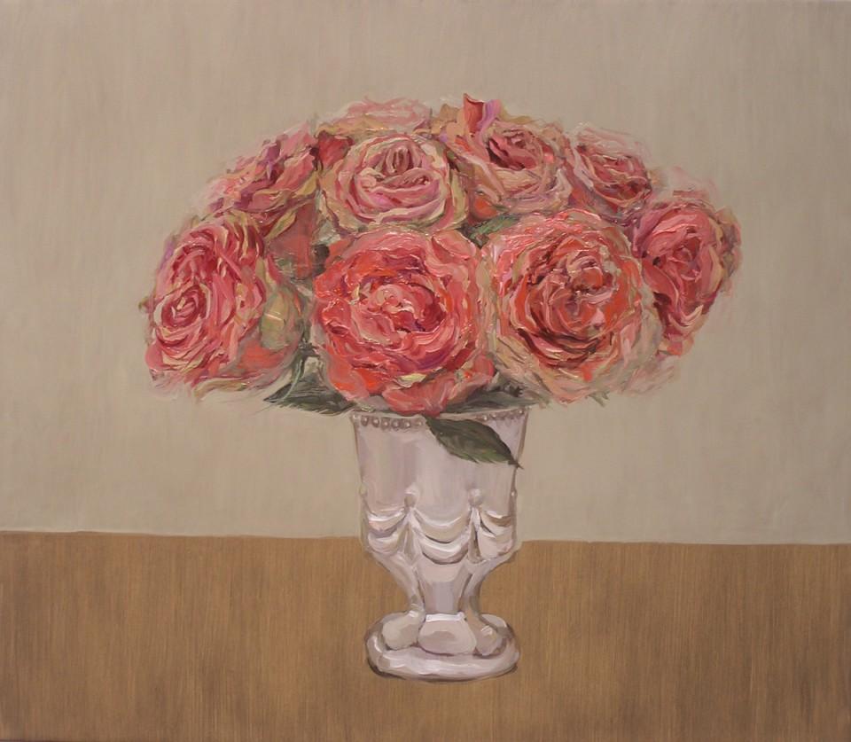 Pink Roses, Jen Mazza, 2010