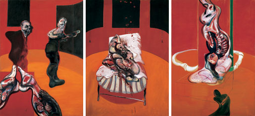 Bacon, Three Studies for the Base of a Crucifiction