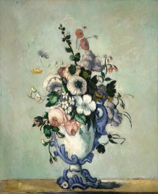 Cezanne, Flowers in Rococo Vase