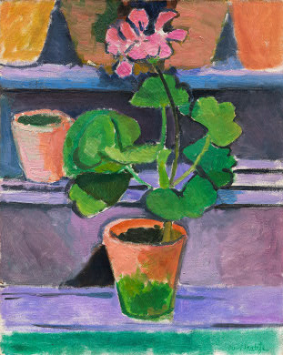 Matisse, Pot of Geraniums