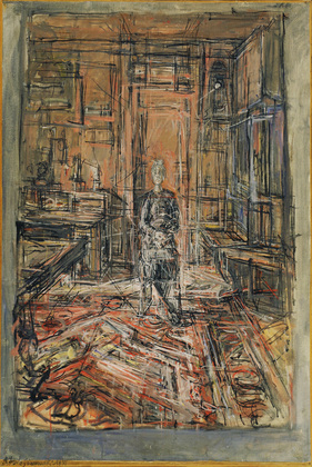 The Artist's Mother, Alberto Giacometti